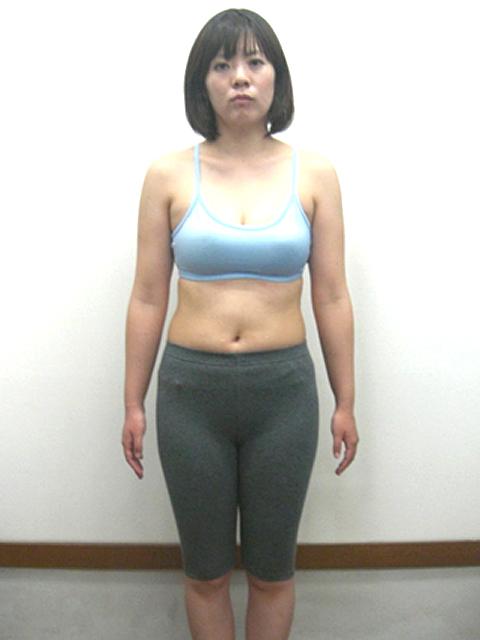 3か月 体重-3.2kg!ウエスト-7.5cm!ヒップ-6cm!アフター写真