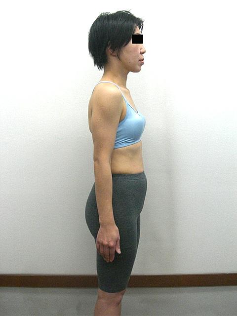 4か月 体重-5.1kg!ウエスト-10cm!ヒップ-9cm!アフター写真