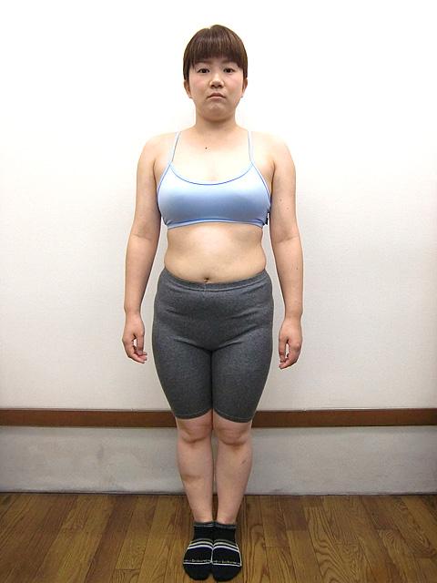 3か月 体重-5㎏!ウエスト-12cm!アフター写真