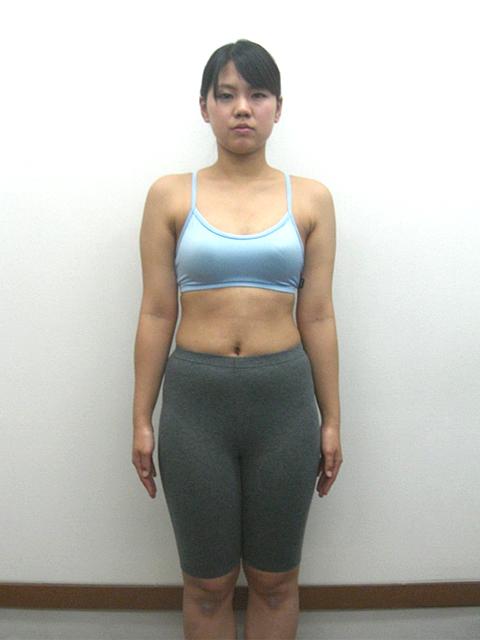 3か月 体重-5.2kg!ウエスト-9cm!ヒップ-6cm!アフター写真
