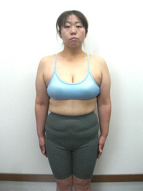 4か月 体重-11kg!ウエスト-19cm!ヒップ-10cm!アフター写真